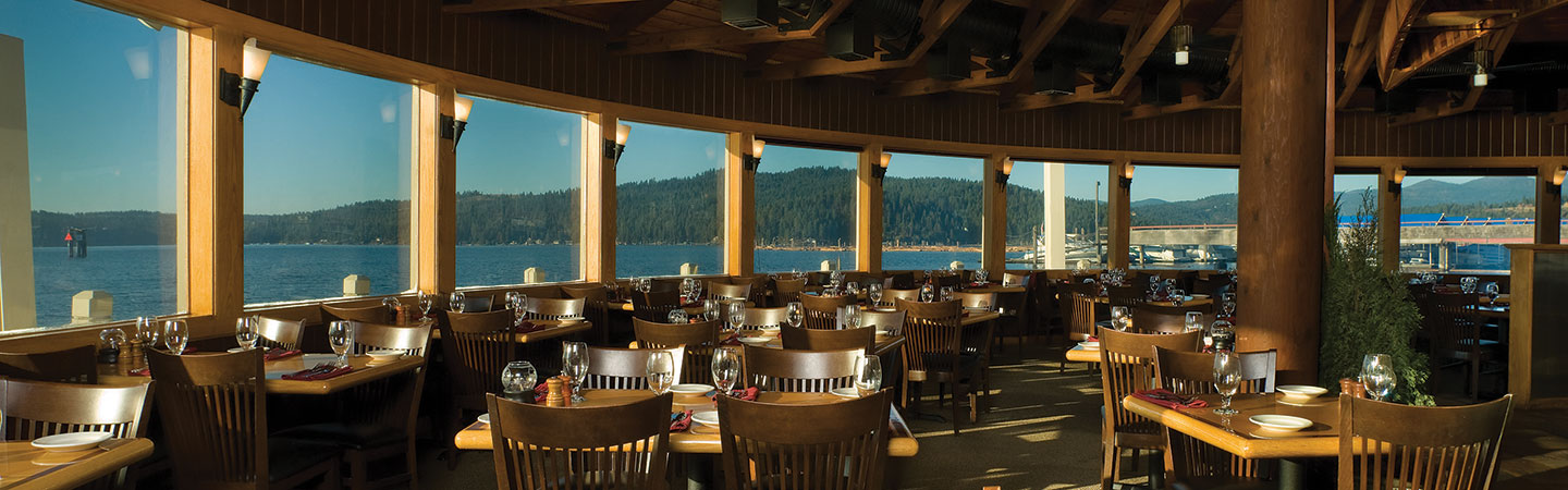 The Cedars Floating Restaurant Dining Night Life Discover Coeur D Alene Resort