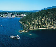 coeur d'alene resort fall activities