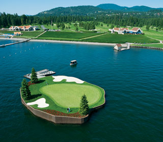 Golf Packages The Coeur D Alene Resort