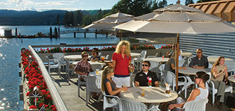 Boardwalk Bar at The Coeur d'Alene Resort