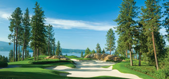 coeur d'alene resort golf 5th hole