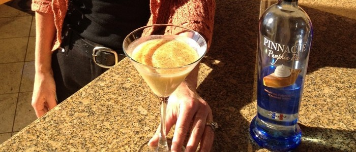 Spiced Pumpkin Martini, Beverly's at The Coeur d'Alene Resort