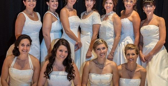 Northwest brides at The Coeur d'Alene Resort