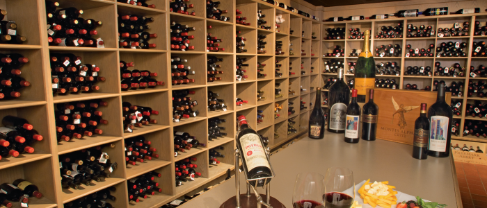 Beverly's Wine Cellar: 14,000 bottles of wine happiness!