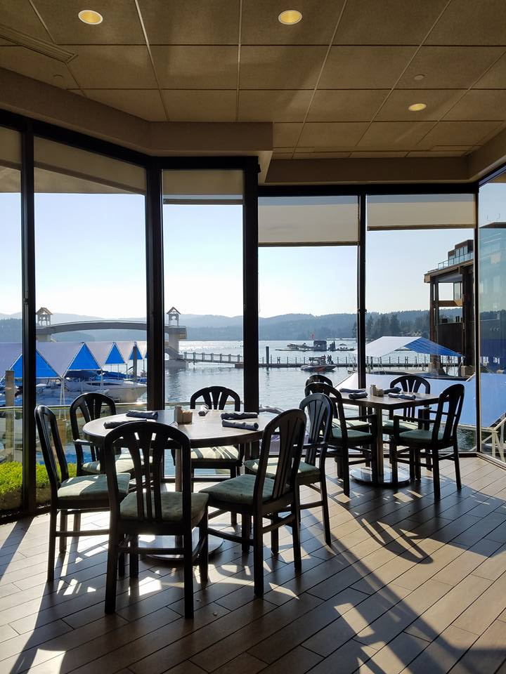 One Of My Favorite Restaurants With A Gluten Free Menu Is Dockside Restaurant On Lake Coeur D Alene In North Idaho If The View Water And