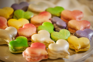 Desserts - French Heart Macaroons