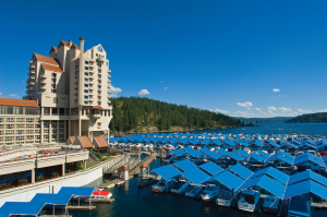 The Coeur d'Alene Resort team has put together Hybrid Meeting Packages that can help you execute a successful group event inclusive to your entire team, whether they are participating face-to-face or remotely.