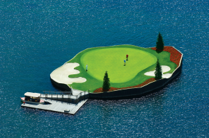 The new-and-improved 14th hole is returning just in time for golf season!