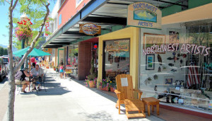 Downtown Coeur d'Alene's Second Friday Art Walk started on April 12 and runs every second Friday through September!