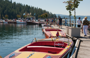 It's time for the Annual Classic Boat Show on The Coeur d'Alene Resort Floating Boardwalk!