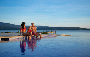 Cool off this summer in one of The Coeur d'Alene Resorts two pools!