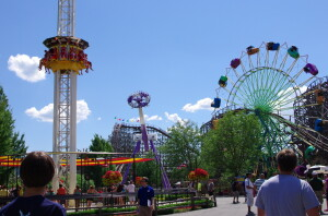 Silverwood Theme Park rides and attractions