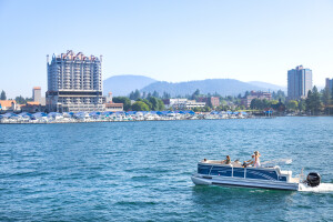 Secret's out: you don't have to be a boat owner to experience the magic of Lake Coeur d'Alene. Rent a boat, jet ski, or paddle board from The Boardwalk Marina!